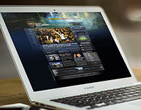 Boca Juniors Web Site Design