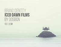 Brand Identity Iced dawn films by dosbcn