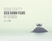Brand Identity Iced dawn films by dosbcn