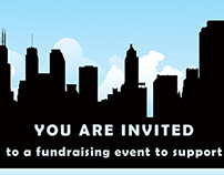 Political fundraiser invitation