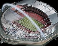 Wembley Stadium Cutaway