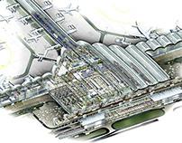 Hong Kong Airport Cutaway