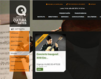 Instituto Queretano de la Cultura y las Artes website