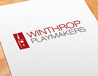 Winthrop Playmakers Logo Refresh