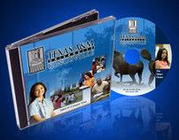 Texas A&M DVD Label Design