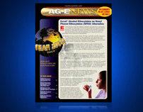 AG-E Newsletter Design