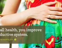 Fertility/Acupuncture website