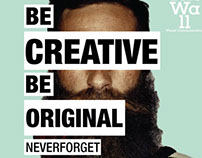 #2 BE creative BE original