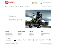 Leather Jacket Stock,  Magento Site