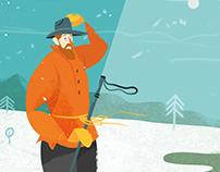 The Magazine Vi - Politics for skiers