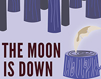 Alternate Book Cover: The Moon Is Down