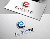 Letter E 3D Logo