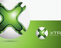 Letter X 3D Logo