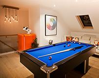 Games loft space, East London