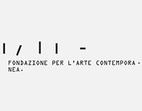 RIVOLI/2. Fondazione per l'arte contemporanea.