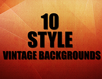 10 Style Vintage Backgrounds