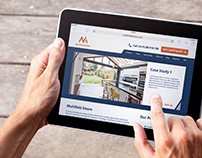 Multifold Doors Responsive Website Design