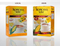 Packaging Tropicana Slim Sweetener Classic