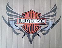 Harley Davidson Mural