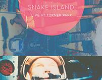 Noah's Ark/Snake Island Gig Poster