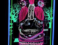 Sowei Neonmasks