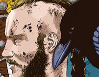 Ragnar Lothbrok (Vikings Fanart)