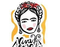 """Frida Love"" Pattern Design"