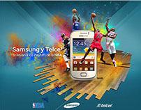 NBA Telcel y Samsung