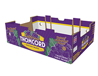 California Thomcord Seedless Grapes Branding