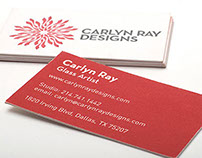 Business Card for Carlyn Ray Designs
