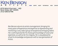 Ken Benson Artists