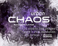#PackADay - 7/22/14 Urban Chaos Backgrounds