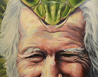 Sasha Shulgin and his Spirit Mantis