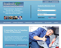 WebPage for TradesEye