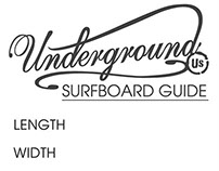 Surfboard Spec Sticker