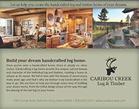 Caribou Creek Full Page Magazine Spread