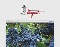 Domaine de Magnaut - Webdesign - Studio-NP