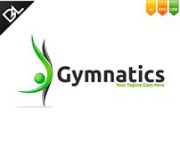 Gymnatics Logo Template