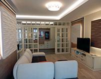 Interior Design Dilovaya St., Kiev