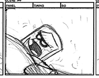 """""""The Infinite Goliath"""" Production Storyboard"""
