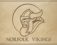 Norfolk Vikings Logo