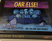 """""""Oar Else"""" Card Game Illustration and Package Design"""