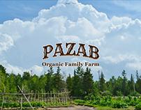 Pazab Organic Farm - Website and Logo Design