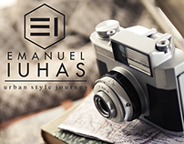Emanuel Iuhas - fashion blogger