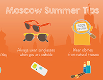 Moscow Summer Tips