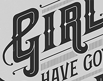 'Girls Have Got Balls' poster