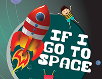 Kids Learning Activity book on Space