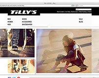 Tilly's web redesign