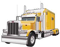 Vector Truck Illustration
