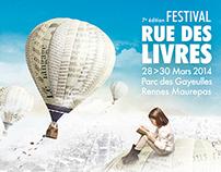 Festival Rue des Livres 2014 - Rennes